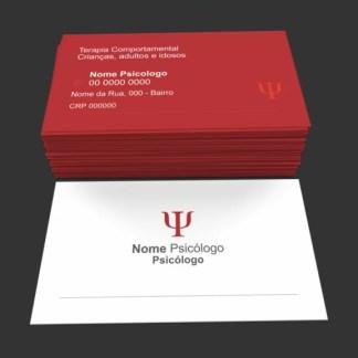 Cartão de Visita Psicologia Modelo 01