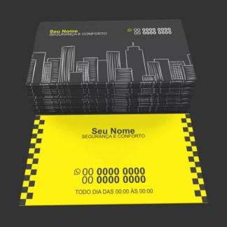 Cartão de Visita Taxista Modelo 04