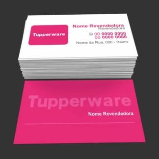 Cartão de Visita Tupperware Modelo 01