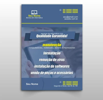 Panfleto Informática Modelo 01