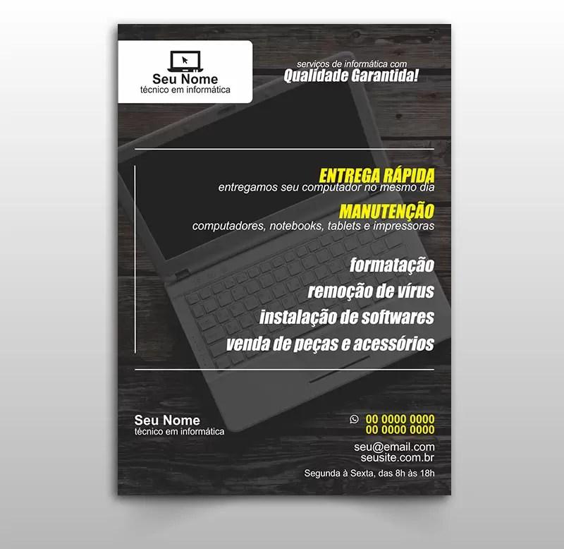 Panfleto Informática Modelo 02