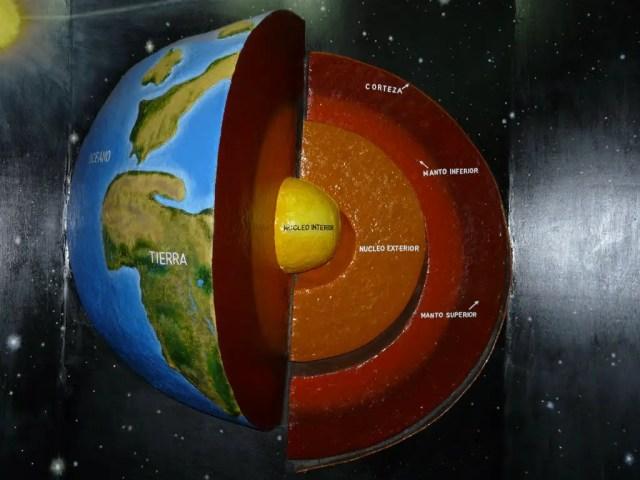 Cules son las capas internas de la Tierra
