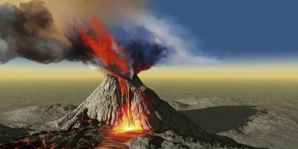 Resultat d'imatges de volcan