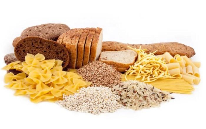 Grupo de alimentos ricos en hidratos de carbono