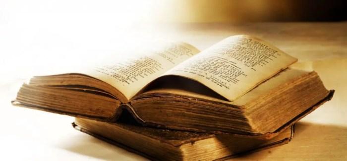 Los textos antiguos han perdurado hasta la existencia de nuestro dias