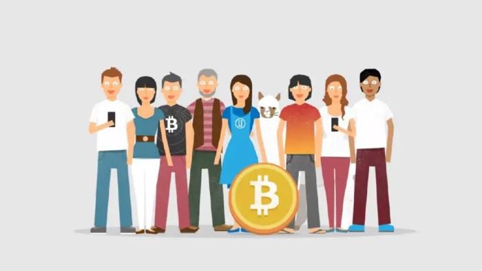 El bitcoin funciona a traves de un medio online, solamente