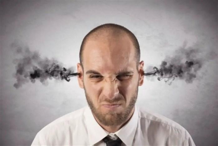 El mal humor es muy habitual cuando se sufre de estres