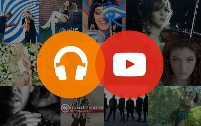 Paginas para escuchar musica YouTube
