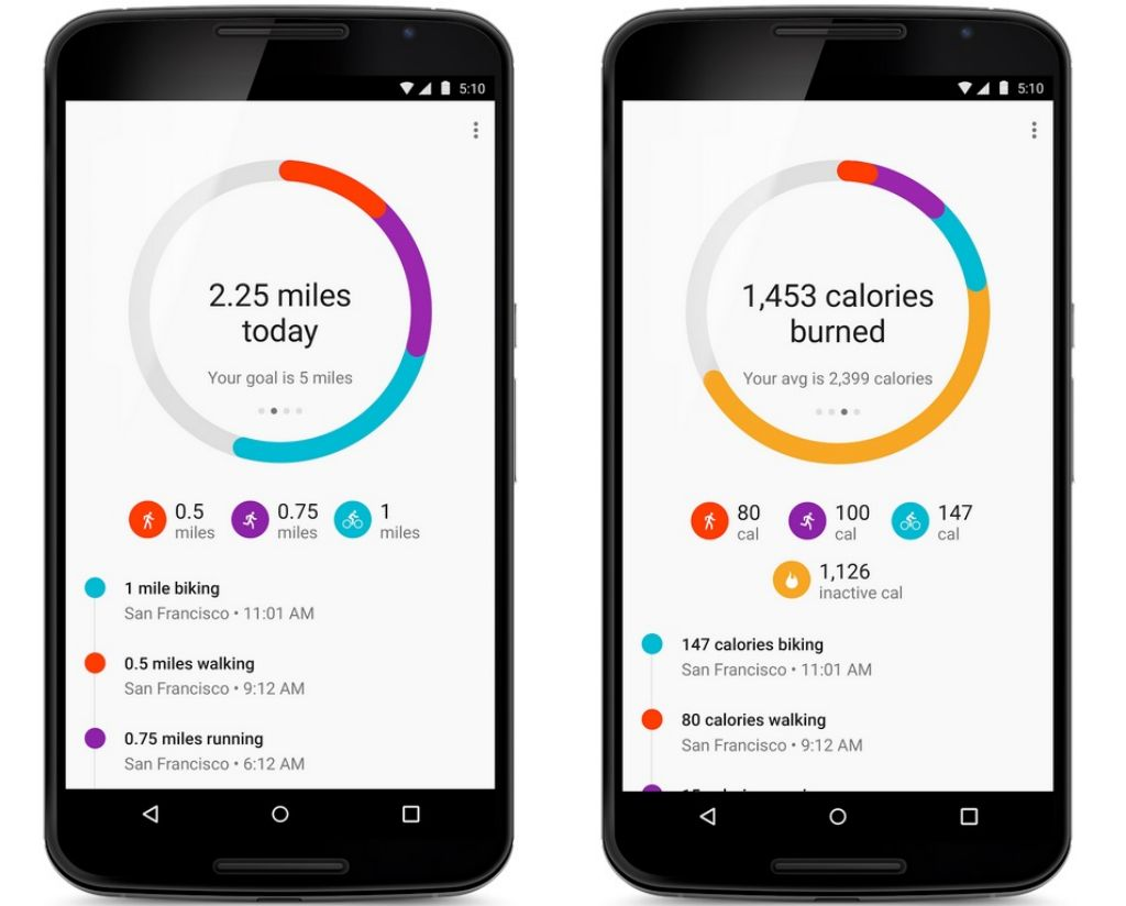 5 Best Android Apps for your Phone google fit