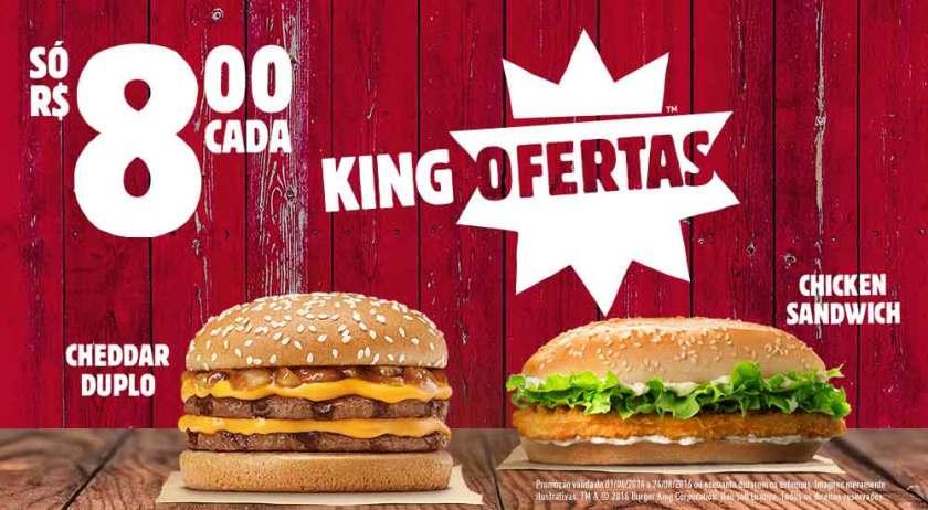 Promoção Burguer King