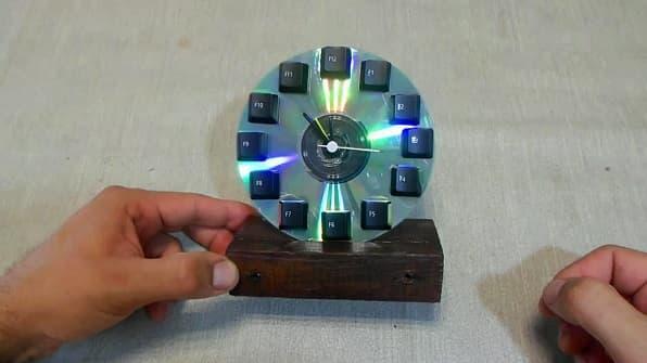 Cómo Hacer Un Reloj Con Un Cd Una Manualidad Que Nunca