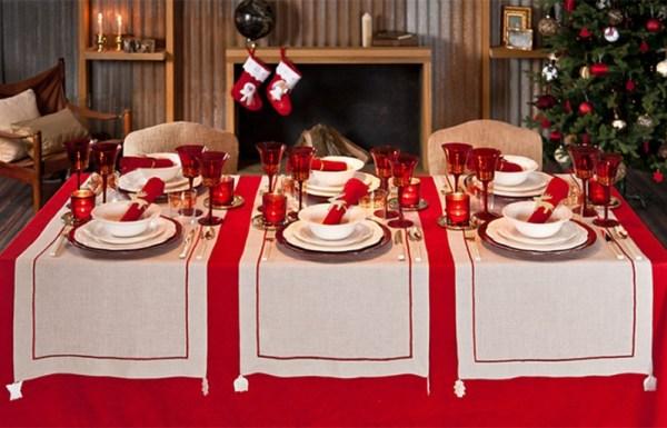 C mo decorar la mesa en navidad c mo lo puedo hacer - Como decorar la mesa de navidad ...