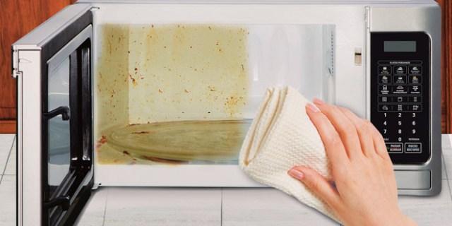 Cómo limpiar el horno microondas 3