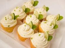 Cupcake Cake Muffins Lime Mint Caipirinha Cream