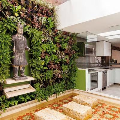 C mo hacer un jard n vertical en casa c mo lo puedo hacer - Como hacer un jardin vertical de interior ...