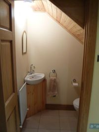 34 Bathroom designs under the stairs | How to organize