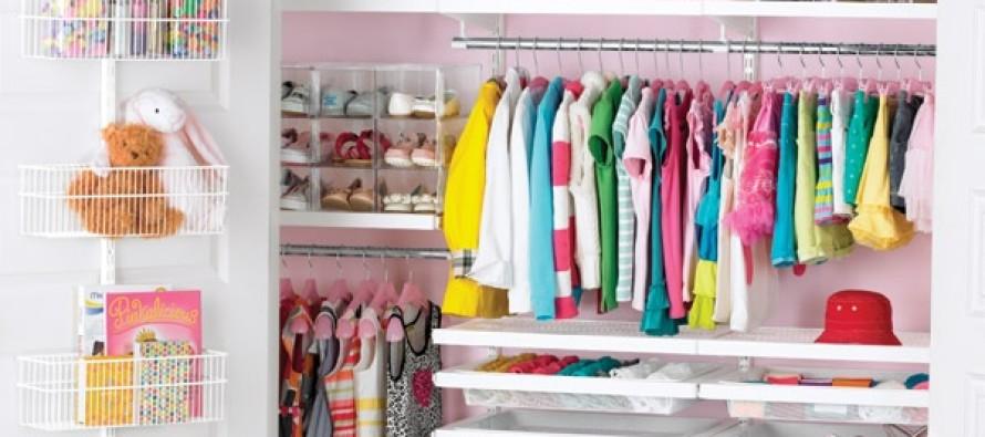 7 ideas para organizar un closet infantil  Curso de