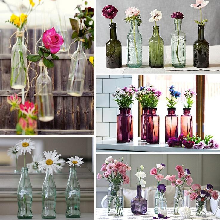 Ideas para reciclar Botellas  Como Organizar la Casa