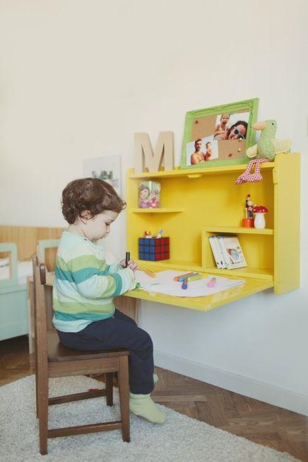 escritorioinfantilparatareas  Como Organizar la Casa