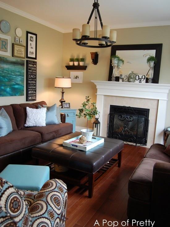 cream throws for sofas antique victorian sofa value decoracion-de-salas-cafe (28) | decoracion de interiores ...