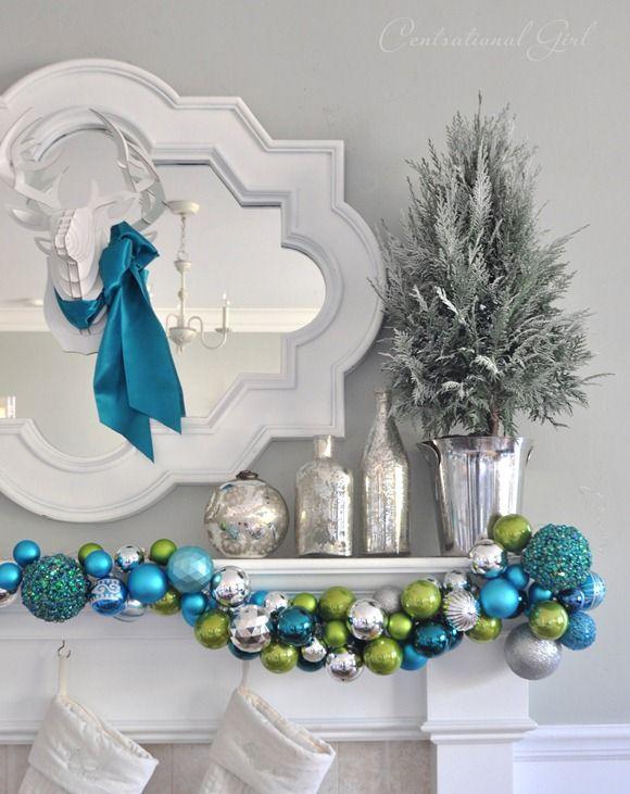 decoracionnavidadazulturqueza 8  Como Organizar la