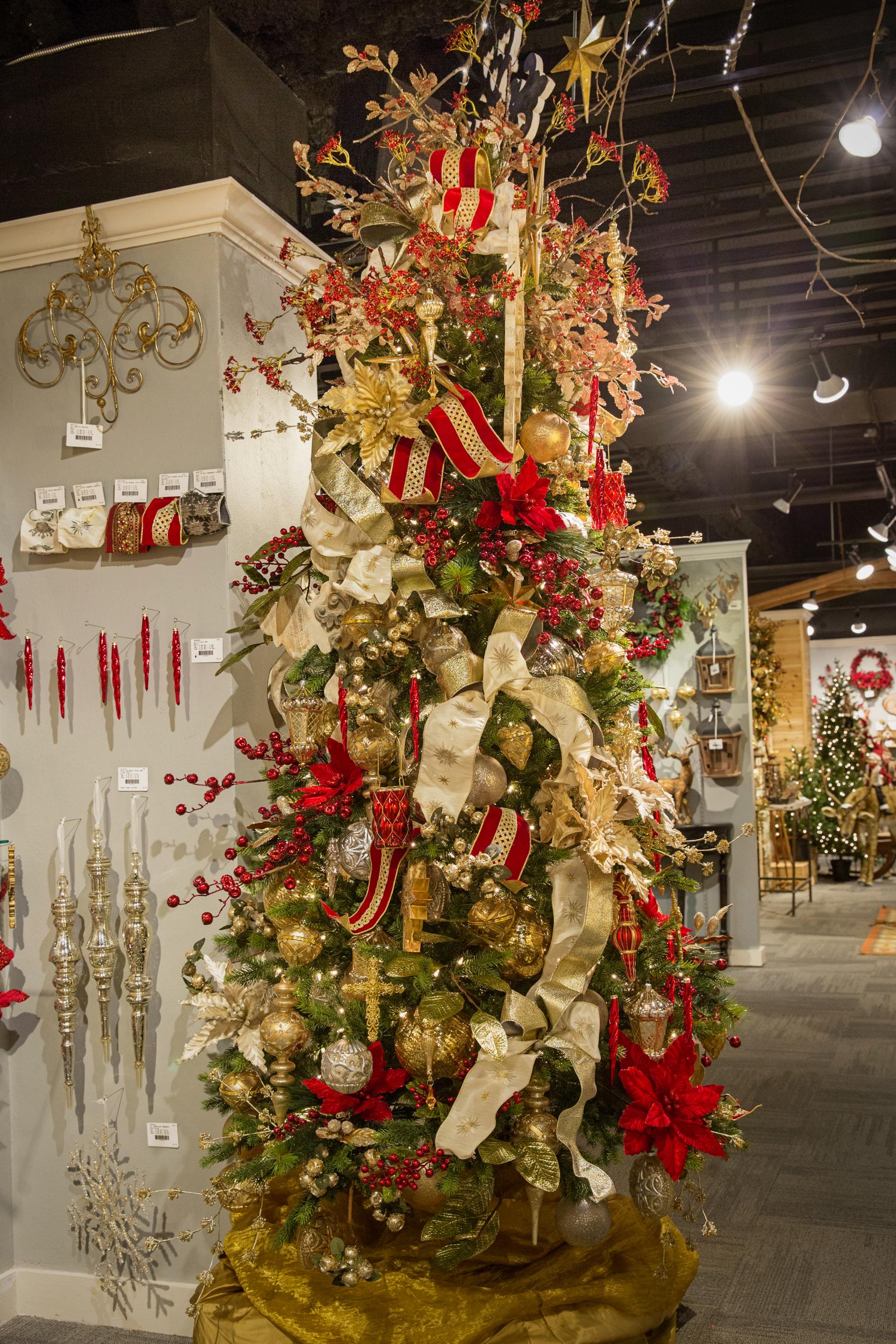 Ideas de decoracion de arbol de Navidad 2019  2020  Como