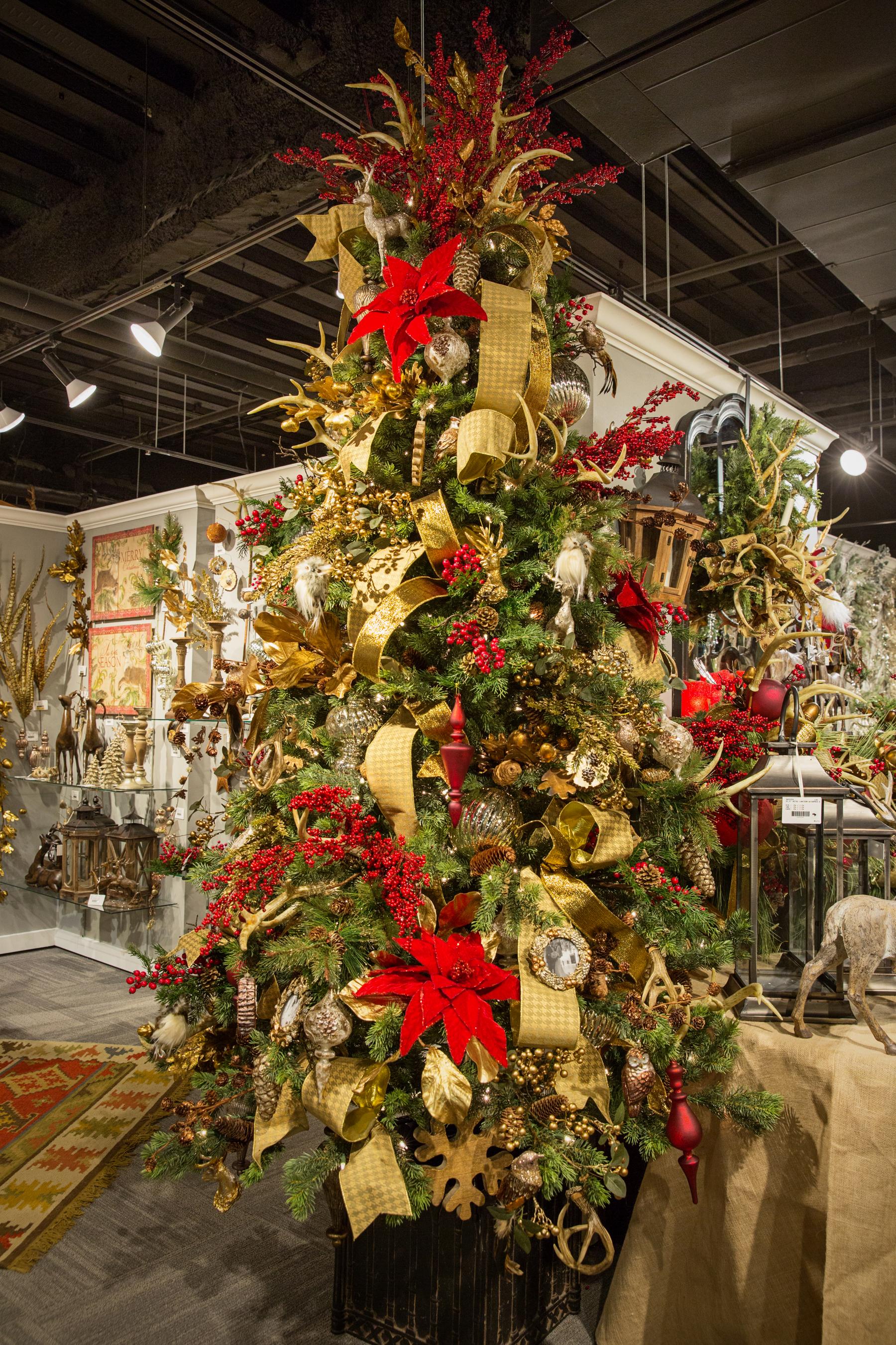Ideas de decoracion de arbol de Navidad 2018  2019