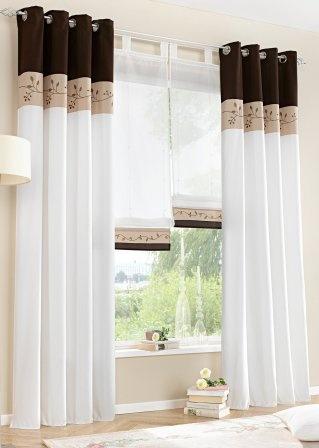 cortinasparasala 13  Como Organizar la Casa