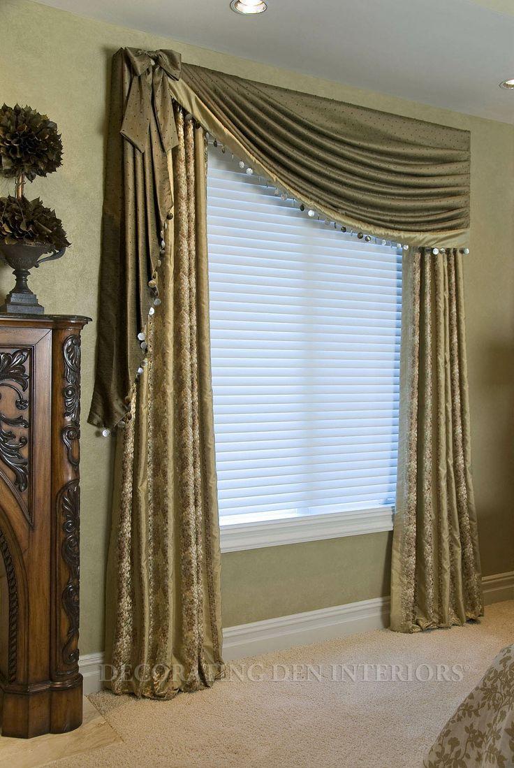cortinasparasala 19  Como Organizar la Casa
