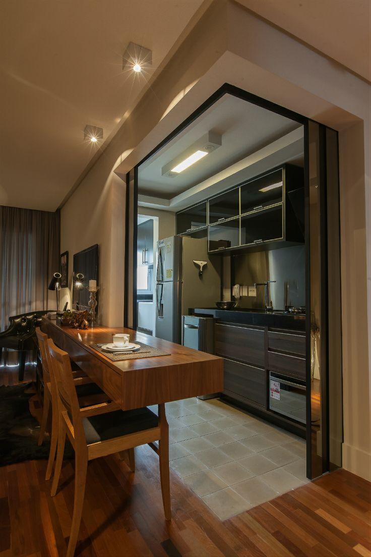 decoraciondecocinasparacasasdepartamentospequenas 5  Decoracion de interiores Fachadas para casas como Organizar la casa
