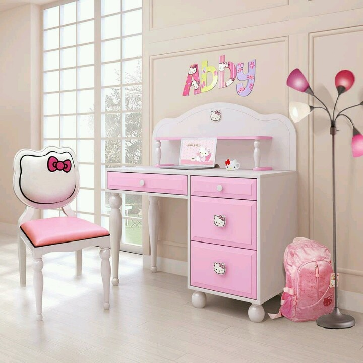 ideasdecoracionderecamaradehellokitty 9