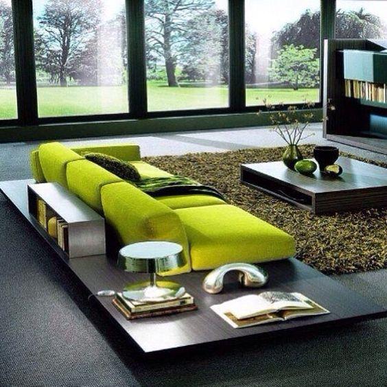 Ideas para decoracion color verde manzana  Decoracion de interiores Fachadas para casas como Organizar la casa
