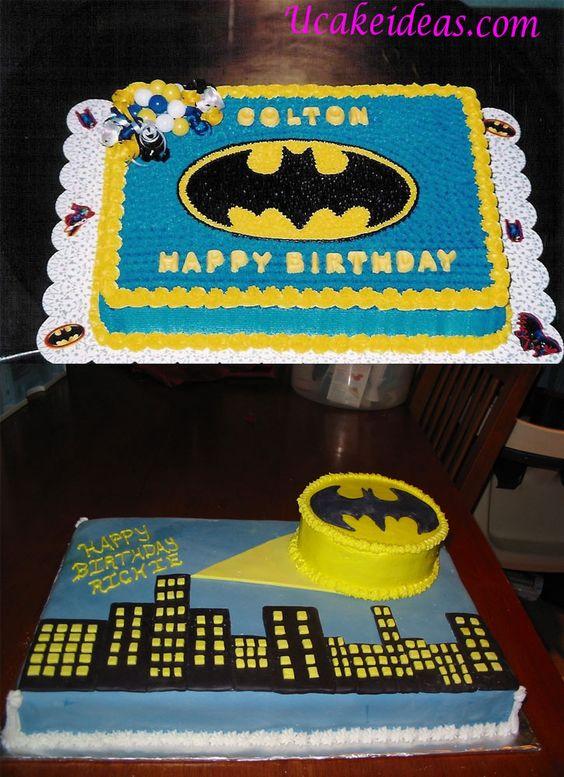pasteles fiesta batman 3  Como Organizar la Casa
