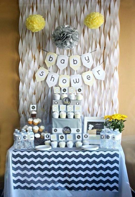 Decoracion de baby shower para nio 17  Como Organizar