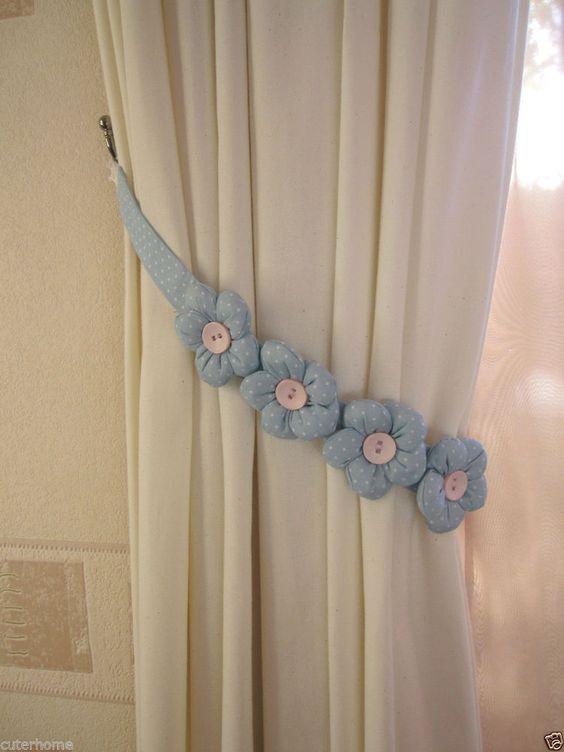 Diseos de sujetadores para cortinas 1