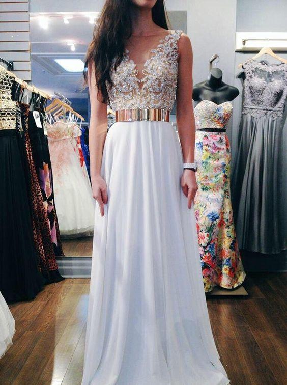 Ideas de vestidos para graduacion largos 3