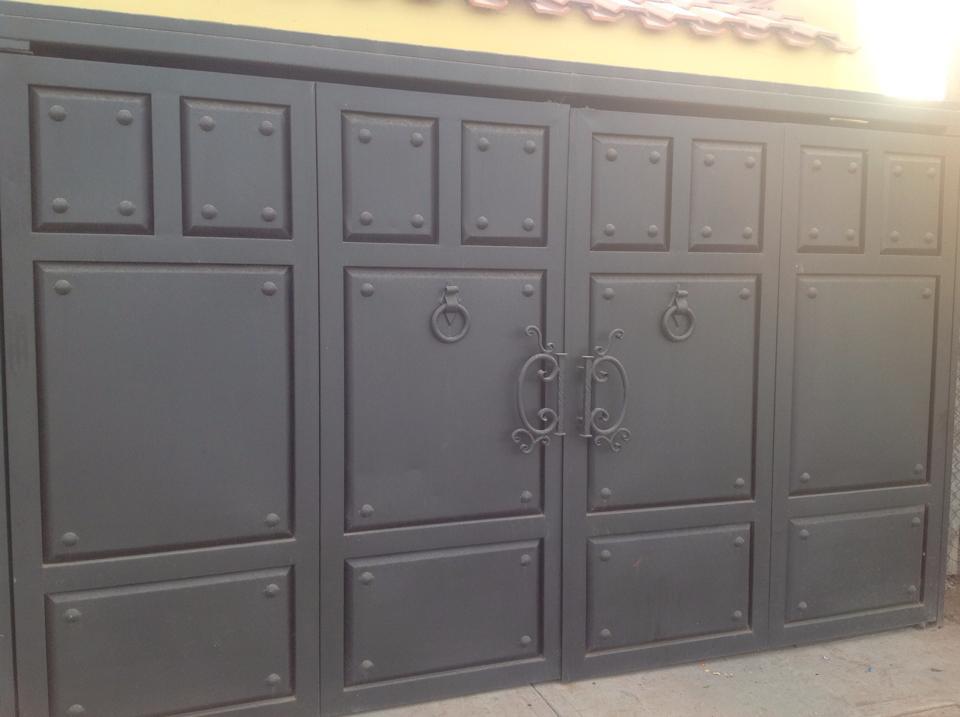 Tendencias en puertas de herreria 10  Decoracion de