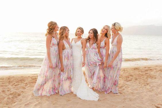 Vestidos para damas de bodas en la playa 21  Como