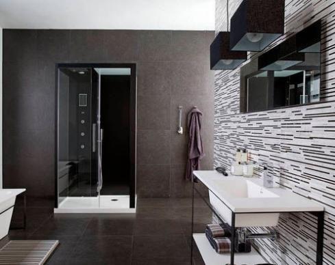 Baos modernos y elegantes 17  Como Organizar la Casa
