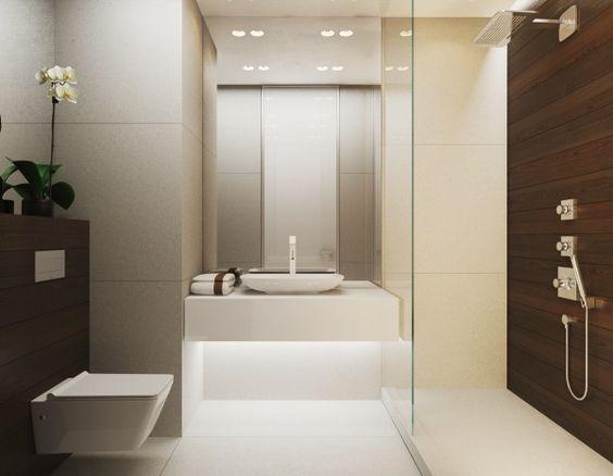Baos modernos y elegantes 7  Como Organizar la Casa