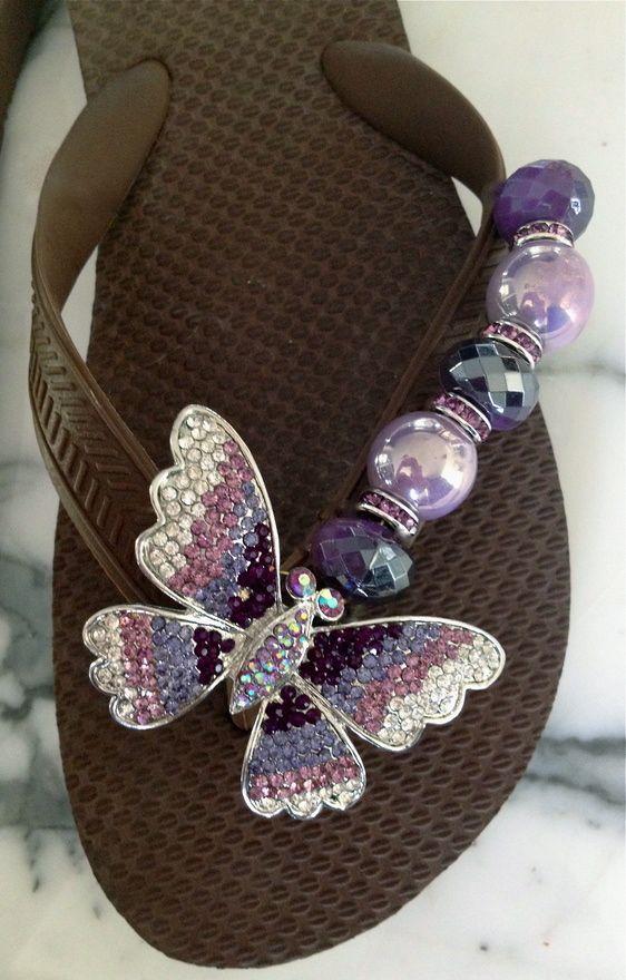 Ideas para decorar sandalias 17  Decoracion de