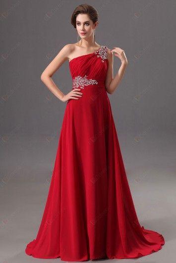 Vestidos de gala color rojo 17