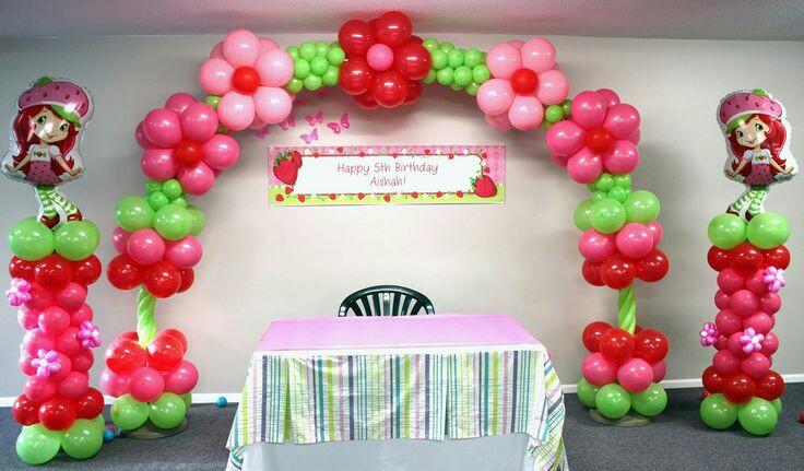 Fiestas de rosita fresita 34  Decoracion de interiores
