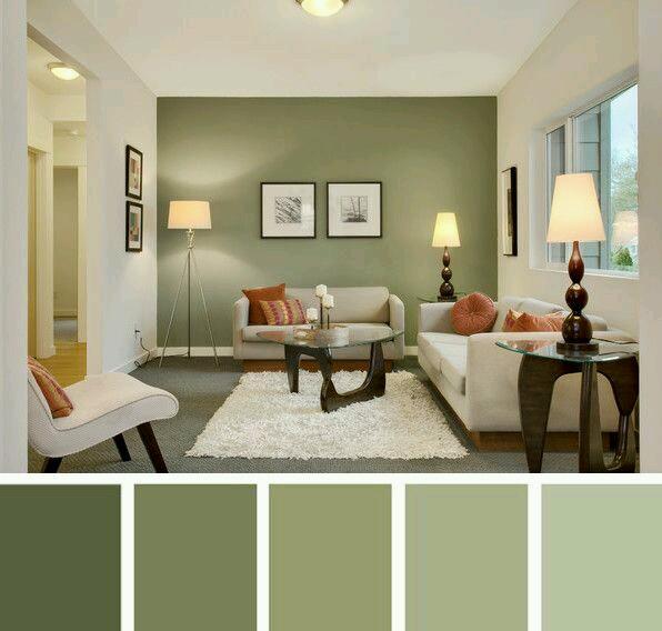 Decoracion de interiores en verde olivo y militar  Decoracion de interiores Fachadas para casas como Organizar la casa
