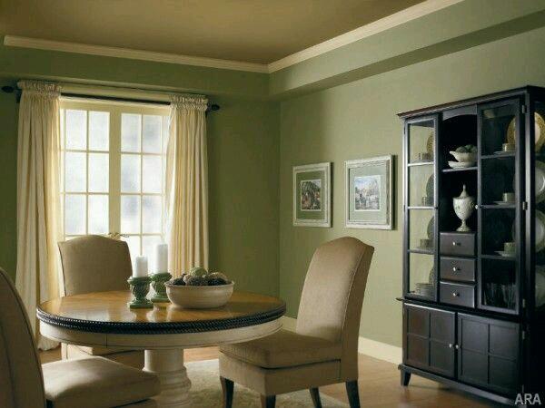 Decoracion de interiores en verde olivo y militar 9  Como Organizar la Casa  Fachadas  Decoracion de interiores  Ideas para Fiestas  Moda
