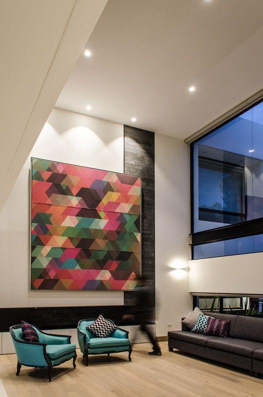 Detalles en la decoracin de casas modernas  Como
