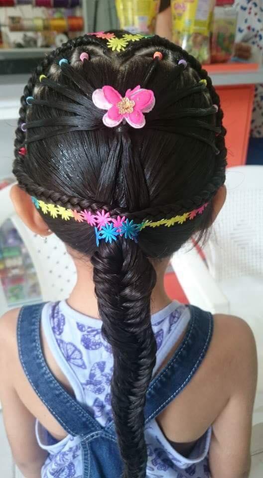 peinadoscontrenzasparaninas11  Como Organizar la