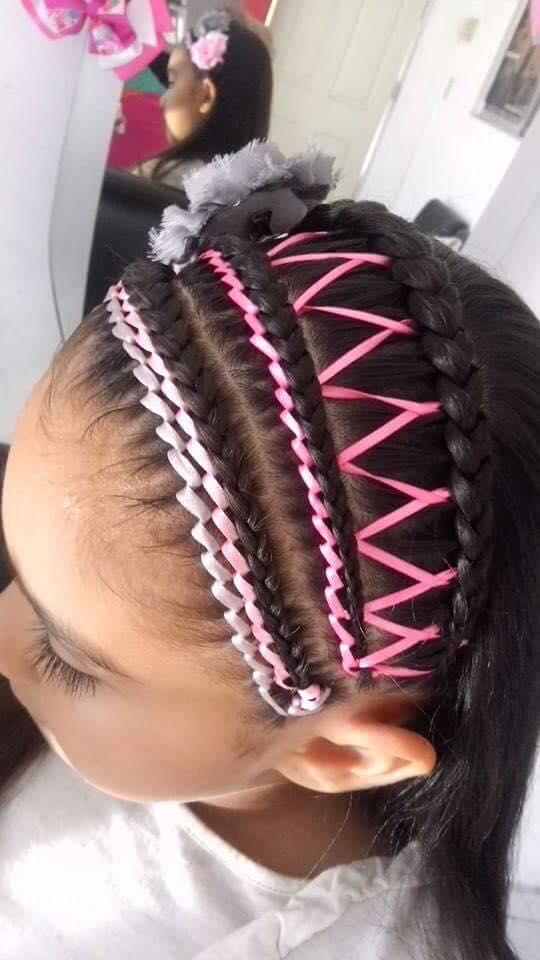 peinadoscontrenzasparaninas7  Como Organizar la Casa
