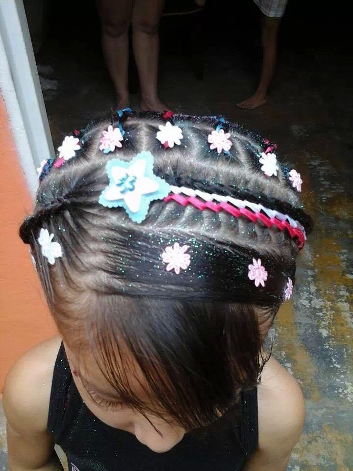 peinadoscontrenzasparaninas8  Como Organizar la Casa