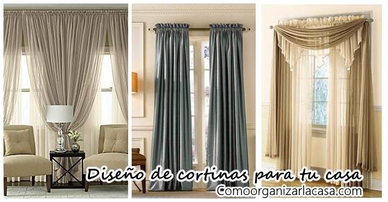 Diseos de cortinas que realzan la belleza del hogar